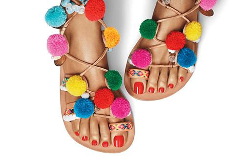 Fußpflege mit Shellac
